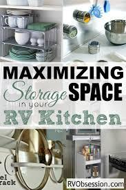 small kitchen storage ideas small rv storage ideas and rv