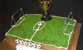 soccer field birthday cake kidspot