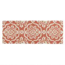 Coral Runner Rug Outdoor Rugs Area U0026 Accent Rugs All Weather Runner Rugs