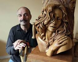 about woodcarving and sculpting by fred zavadil