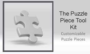 powerpoint puzzle piece template free metlic info