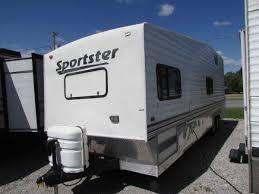 trailer garage 2004 playmor sportster 310 travel trailer toyhauler separate