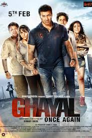 ghayal once again is coming soon to select regal cinemas