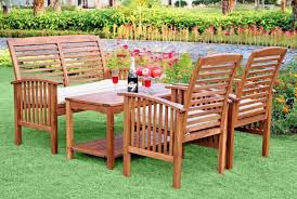 Wood Patio Furniture Sets 72 Comfy Backyard Furniture Ideas