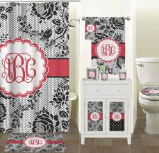 Bathrooms Accessories Uk by Bathroom Exclusive Black Lace Black Bathroom Accessories With
