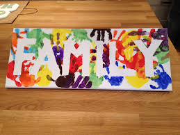 best 25 family crafts ideas on pinterest family canvas