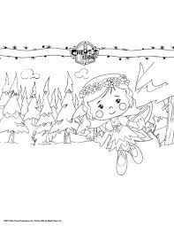 chloe as a fairy coloring pages hellokids com