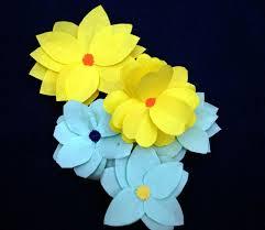easy paper flower making craft for children youtube