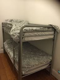 Habitat Bunk Beds Habitat Silver Metal Bunk Beds And One Mattress Nearly New In