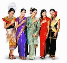 6 traditional costumes of malaysians taman sri nibong ra log