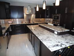 floor and decor granite countertops bedroom modern kitchen with black wood cabinet and alaskan white