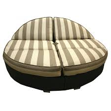 Round Wicker Patio Furniture - large round cushions for outdoor furniture