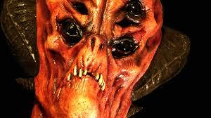 area 51 alien demon lord halloween mask from the underworld youtube