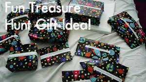 diy fun treasure hunt gift idea youtube