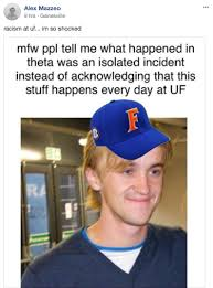 Uf Memes - apparently theta is reporting all the memes about them to facebook