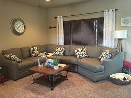 3 piece sectional in sugarshack brown nebraska furniture mart