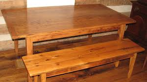 wormy chestnut table with cast iron legs reclaimed wood