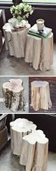 Tree Stump Side Table 16 Inspiring Diy Tree Stump Projects For Rustic Home Decor