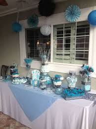 blue baby shower 20 best black and blue baby shower images on shower