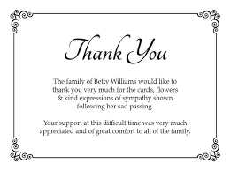 thank you for funeral flowers funeral thank you notes sympathy and sle letter after