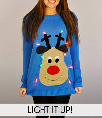 top christmas christmas sweater light up led christmas lights