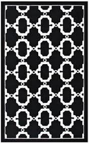 Black And White Outdoor Rug Clasp Geometrical Black White Indoor Outdoor Rug