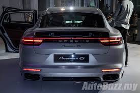 porsche malaysia 2017 porsche panamera 4s launched in malaysia autobuzz my