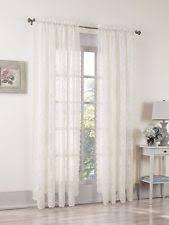 3 Inch Rod Pocket Sheer Curtains No Panels 918 Alison Sheer Lace Rod Pocket Curtain Panel 58 X 84