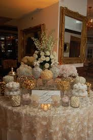 12 best blush u0026 gold wedding candy buffet images on pinterest