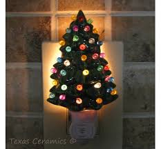 ceramic christmas tree with lights green ceramic christmas tree light with automatic li