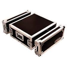 Audio Rack Case Odyssey Fzar4 4 Space Amp Rack Ata Case Idjnow