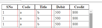 Html Scrollable Table Table Fixed Header In Scrollable Div