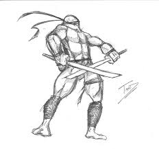 random ninja turtle sketches because i was bored