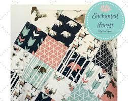 Canadian Crib Bedding Bedding Etsy
