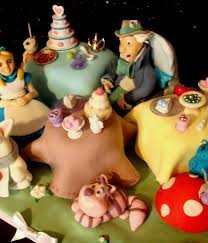 adventurous alice in wonderland cakes cakecentral com