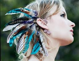 how to make feather ear cuffs sequoia nights feather ear cuff by spirittribe on etsy soooo