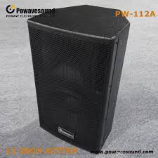Black Textured Paint - best pw 112a high quality 12 inch stage speaker professional