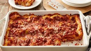 Meat Lasagna Recipe With Cottage Cheese by Easy Meatless Lasagna Recipe Bettycrocker Com