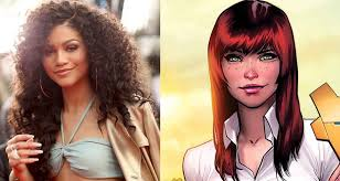Mary Jane Memes - zendaya will play the first black mary jane watson in spider man