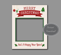 chic style christmas giant photobooth frame u2013 pixels and pine