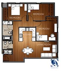 Floor Plans For Apartments 3 Bedroom by Slideshow The Goodwin Floorplans Available For Viewing West