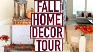 Home Decor Orange Fall Home Decor Tour Fall 2016 Youtube