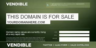 vendible site domain for sale xhtml css by contempoinc themeforest