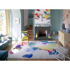 Rugs Modern by Nevis Rug Modern Wool Rugs Abstract Rugs Bluebellgray