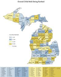 Midland Michigan Map by Poverty Worsens For Michigan Children Map Wdet