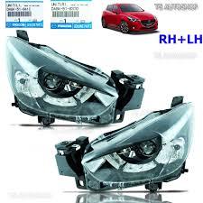 mazda made in pair projector head lamp oem for mazda 2 mazda2 4 5 dr sedan