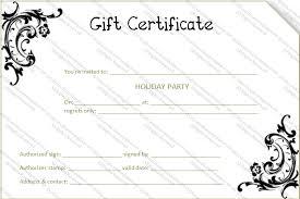 gift voucher samples gift voucher template pdf blank certificates