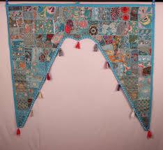 turquoise gate cheap bohemian window scarves bedding valance boho
