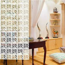 gp003 new eco friendly material wood plastic hanging room divider