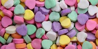 hearts candy hearts candy so colourful happy day 2018 sms